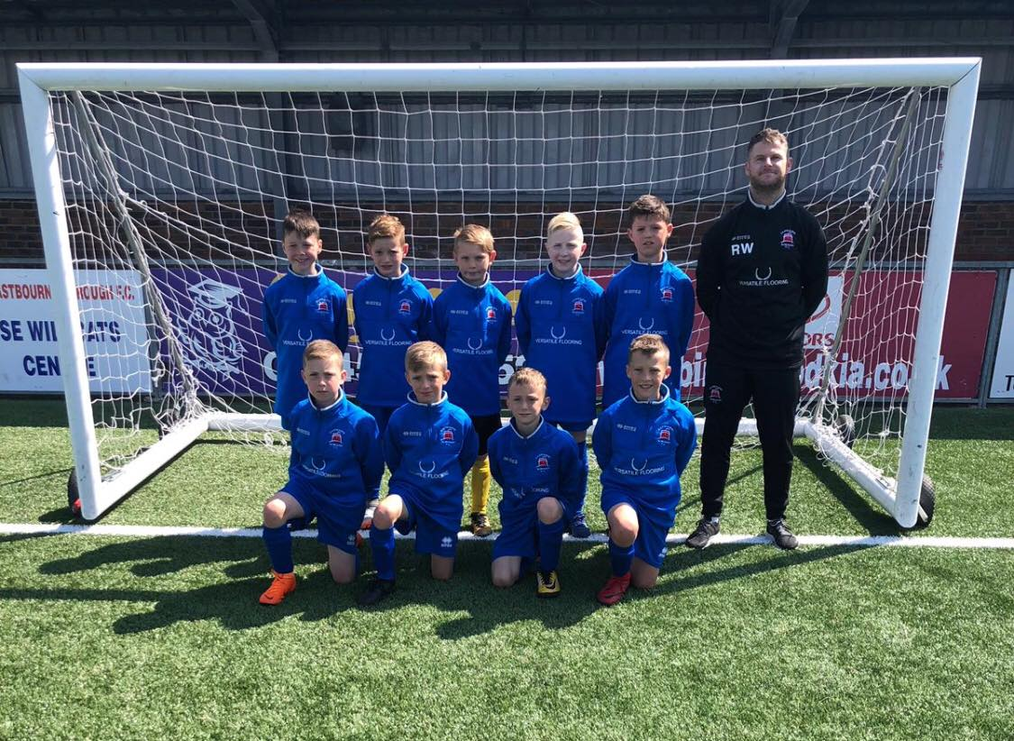Versatile Flooring Sponsorship - Eastbourne Borough Youth